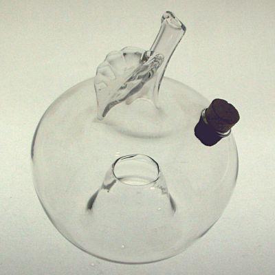Wespenfalle Apfel hängend ø 12cm Klarglas