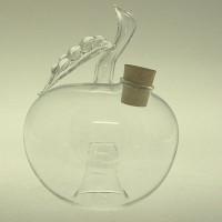 Wespenfalle Apfel hängend ø 9cm Klarglas