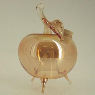 Wespenfalle Apfel stehend ø 9cm Farbton Amber