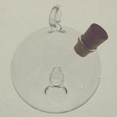 Obstfliegenfalle Kugel ø 6,5cm hängend Klarglas
