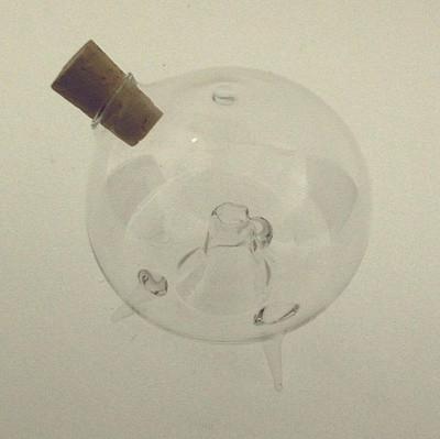 Obstfliegenfalle Kugel ø 6,5cm stehend Klarglas